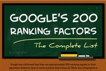 Search Engine Optimization Hacks / Tips and Infographics on how to up your site rankings
