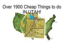 Fun things to do in Utah  / Staying in Utah for the summer? So are we! Here are some great ideas for your summer here including places to go and inexpensive activities.  / by UVU Summer Semester