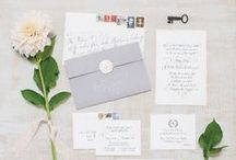 P a p e r • g o o d s  / Wedding invitations