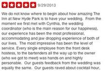 Event Reviews for The Inn at New Hyde Park / Our happiest clients are the best way to share with you why you should celebrate your life's biggest events here with us at the INN…#longisland #weddingvenue