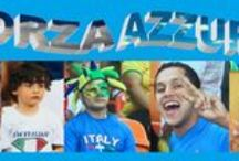 FORZA AZZURRI / Note d'incoraggiamento ai nostri Azzurri in Brasile per i Mondiali di Calcio