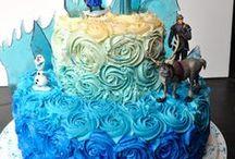 frozen party / frozen cake