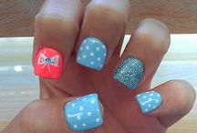 nail designs / ❤️❤️❤️nails  / by Jordann Foster