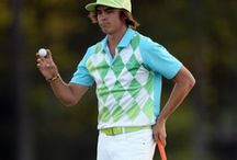 Dressed to go pro / How to dress yourself when you are playing golf, walk on the green. Stylish, extravagant, fun.