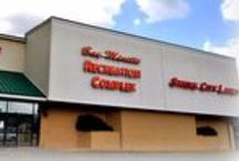 "Recreation Center, Bay Minette AL / The Recreation Complex, also known as ""The Rec Center"", serves as home to the ""Rec & Roll Skate Center"" and the ""Strike City Lanes"" bowling alley. Bay Minette, AL"