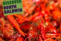 "Crawfish Bash / Love Crawfish? Come out for a good old-fashioned, rustic fun filled night. Held every June by the North Baldwin Chamber- ""All you can eat  and drink until it's gone"" kind of fun!"