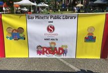 Read Aloud Bay Minette / This event promotes reading in the North Baldwin area to children in the early part of their reading development. With celebrity readers, favorite book characters, FREE books and FREE food this event proudly encourages community spirit and learning development.