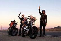 cafe racer/style. / inspiration, mc clothing and rad bikes.