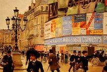 Béraud, Jean (1849-1935, French Belle-Époque painter famous for his paintings of Paris life)