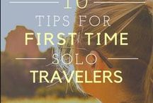 Solo Travel Tips and Destinations / Solo travel tips! Tips and tricks for traveling solo.