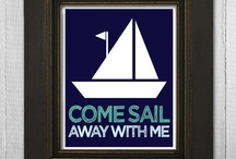 Nautical Sayings & Beach Quotes / A collection of nautical, sailing and beach expressions, quotes and sayings to inspire your  beach wedding, shower, or party planning