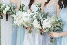 Beach Bridesmaid / Bridesmaids from beach, nautical, tropical and island weddings. Ideas for your beach wedding bridesmaids including simple beach bridesmaid dresses, destination wedding bridesmaid dresses and bridesmaids wearing dresses in beach colors such as coral, turquoise and Tiffany blue.