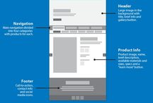 Wireframe / UX examples