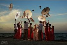 Beach Weddings Mexico / Get inspired by these ideas from weddings on the coast of Mexico including Cancun wedding ideas and Tulum weddings