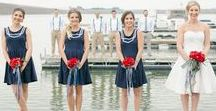 Nautical Wedding Ideas / Nautical wedding ideas including nautical wedding favors, nautical wedding centerpieces, nautical wedding invitations and nautical themed wedding decorations. Ideas for your wedding that incorporate preppy and marine inspired motifs including anchors, life preservers, boats, nautical flags and nautical colors.