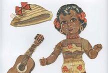 Paperdolls1 Дети / Дети - бумажные куклы с одеждой.