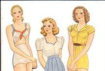 Paperdolls2 Женщины / Женщины - бумажные куклы с одеждой.