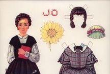Paperdolls5 Книги, кино, театр. / Персонажи из книг, кино, театра - бумажные куклы с одеждой.