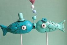 Fishing & Fish Theme Wedding / Fishing and fish wedding ideas including wedding cakes and decorations