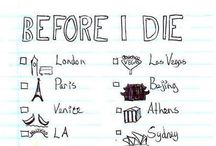 My dream trips / Viajes