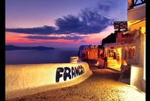 Your entertainment in Santorini Island! / If you think a visit to Santorini will be a relaxing and peaceful way to spend a vacation with loved ones, or perhaps with friends, it will only be a vivid nightlife entertainment! http://goo.gl/rfKnXF