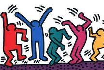 Keith Haring / Keith Haring (Reading (Pennsylvania), 4 mei 1958 – New York, 16 februari 1990) was een Amerikaans kunstenaar. De kunst die Keith Haring maakte wordt soms (onterecht) popart genoemd, maar ook de termen graffiti-art en moderne kunst worden gebruikt. Zijn cartoonachtige schilderingen en tekeningen gingen onder andere over aids, seks, drugs en apartheid.  Inhoud Leven en werk Nalatenschap Sculpturen van Haring in Duitsland Externe link