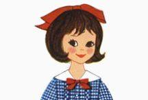 Paper Dolls10 Betsy McCall / Бумажная куколка Бетси.
