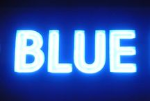 Blu / De kleur blauw