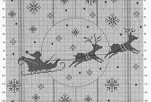 Cross stitch Christmas / haft
