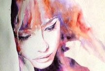 Aquarela / Pintura em aquarela