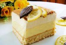 Ciasta, ciastka, desery / słodkości / by Danuta Stroińska