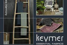 Keymer   New Harmony / Upholstery Fabrics - Meubelstoffen   Keymer Essential Fabrics   #Meubelstof met een #vintage uitstraling in actuele kleuren