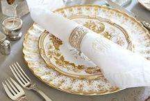 Decorando mesas / Sugestões para compor mesas de jantar com muito estilo e sofisticação