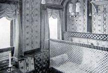 El tren imperial del Emperador Nicolás II / El tren imperial era uno de los medios de trasporte que utilizaba la familia imperial rusa en sus diversos viajes.