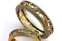 Handmade jewellery of gold and silver / Jewellery of gold and silver