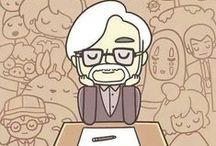 Hayao Miyazaki-sama! / Творчество Хайяо Миядзаки. Студия Гибли. И вообще Тоторо-Тоторо!!!