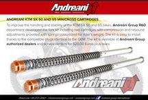 KTM SX 50-65 / New front fork cartridge kit for KTM SX50 and SX65