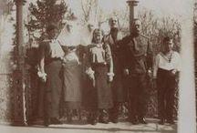 Con el Gran Duque Miguel / Nicolas, OTMA y Alexei con el Gran Duque Miguel, el hermano de Zar