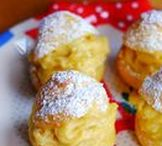 Recipes: Petite Pastries / Cute petite pastries from my blog, cherienoms.com | Easy recipes for cookies, madeleines, baked donuts, macarons, mini cakes, steamed cupcakes.