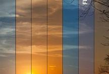 Свет, цвет и схемы