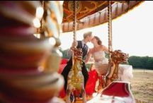 Fairground Themed Wedding / To add whimsy to your wedding day, why not go for a circus or carnival theme, bringing an abundance of colour, festivity and creativity to the proceedings.