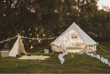 Festival Themed Wedding / For a more laidback, down-to-earth affair, why not bring a festival theme to your wedding, ensuring a special day that is relaxed, expressive, outdoorsy, vibrant and colourful all at once.