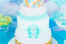 Under the Sea Party / Under the sea party ideas including decor, under the sea party favors, under the sea cake ideas and under the sea invitations