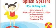 Pool Party Ideas / Pool party ideas including pool party ideas for teenagers, kids pool party ides and girls swim party ideas. Inspiration for pool party favors, invitations, party games, decorations, goodie bags, plates, supplies, cakes and activities.