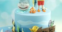 Shark Party / Shark party and shark birthday party ideas including invitations, cakes, decorations and favors.