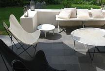 contempory courtyard design
