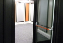 Hayes Campus Music Suite / 4  BOXY modular music rooms installed into Hayes Community College in 6 days.
