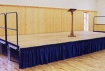 Staging / A collection of staging available through Amadeus Performance Equipment Ltd.
