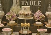 Mesas dulces (Sweet tables) / Hagamos la vida un poco más dulce ¡a comer pasteles!