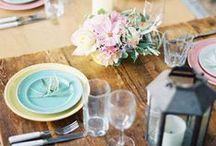 Recepción & convite (reception & banquet) / Diferentes ideas para celebrar el convite de vuestra boda. ¡Vida la originalidad!